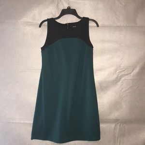Cute and simple green and black dress